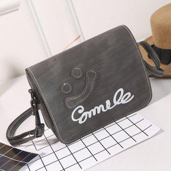 Flap Smile Cross Body Bag