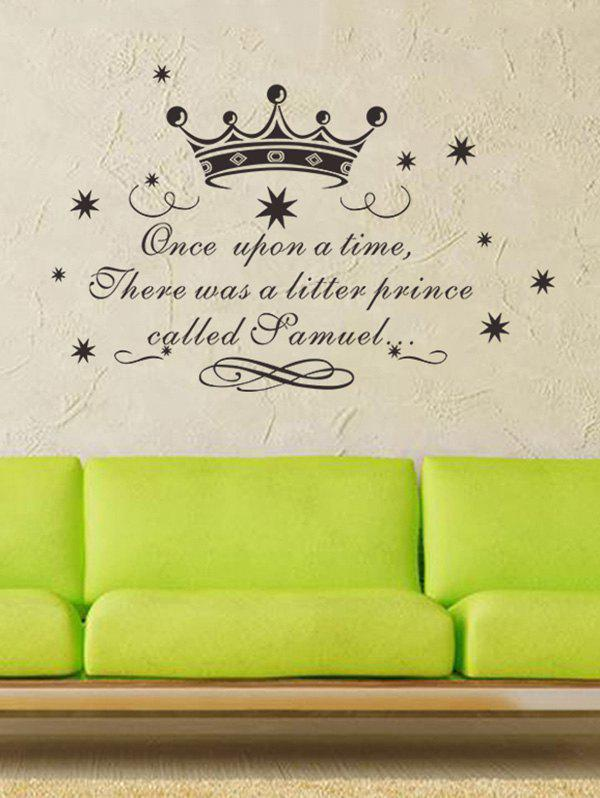 Children Room Fairy Tale Quote Wall Art Sticker home decoration removable quote wall art sticker