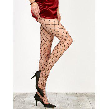 Large Loop Design Fishnet Pantyhose