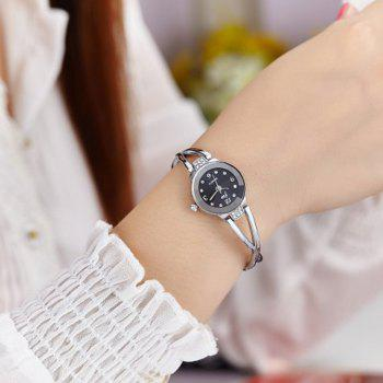 JW Alloy Rhinestone Wrist Watch