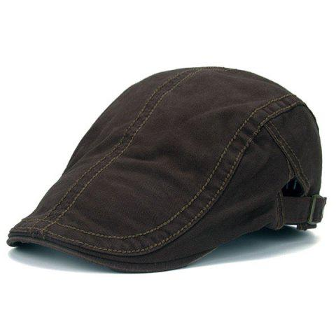 Sewing Thread UV Protection Jeff Cap - COFFEE