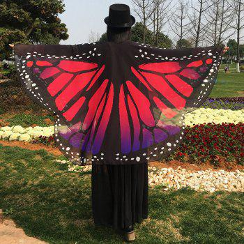 Butterfly Wing Chiffon Scarf