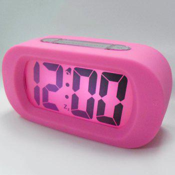 Silicone LED Digital Alarm Clock
