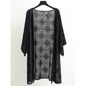 Open Front Lace Coat
