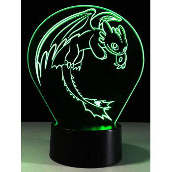 Color Changing 3D LED Acrylic Night Light For Children