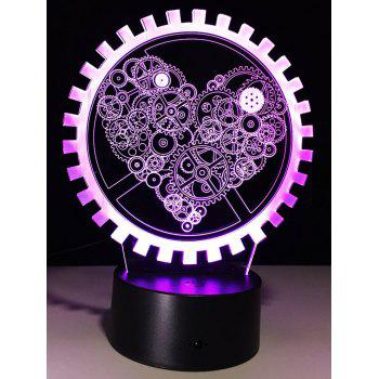 3D LED Color Changing Night Light Holiday Gift