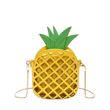 Pineapple Shape Cut Out Crossbody Bag