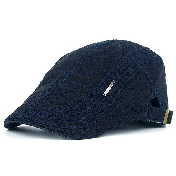 Alloy Label UV Protection Jeff Cap - CADETBLUE