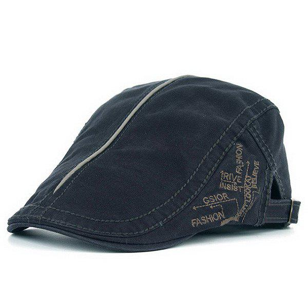 Embroideried UV Protection Cadet Hat - DEEP GRAY