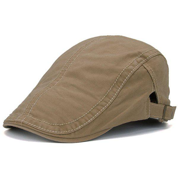 Sewing Thread UV Protection Jeff Cap - KHAKI
