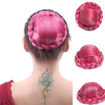 Boutique Capless Braid Bun High Temperature Fiber Chignons