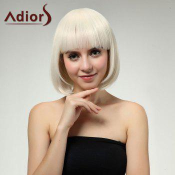 Adiors Full Bang Straight Short Bob Synthetic Wig