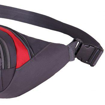 Sports Waterproof Waist Bag -  RED