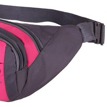 Sports Waterproof Waist Bag - ROSE MADDER