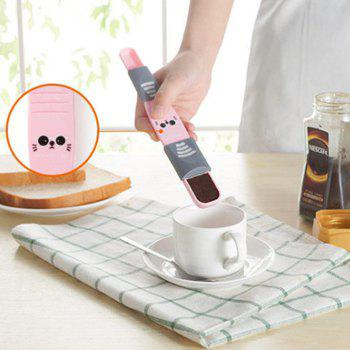 Cartoon Ration Scale Measuring Spoon - PINK