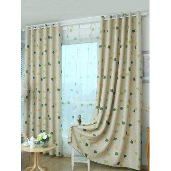 Grommet Top Window Curtain Blackout Screening