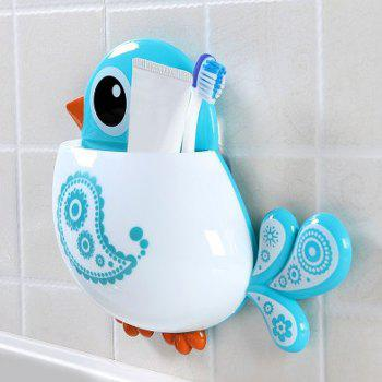 Cartoon Bird Suction Toothbrush Holder