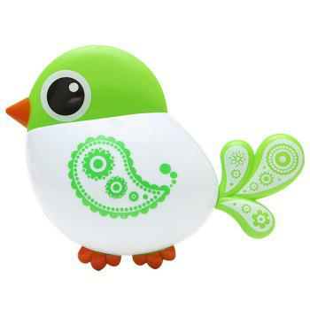 Cartoon Bird Suction Toothbrush Holder -  GREEN