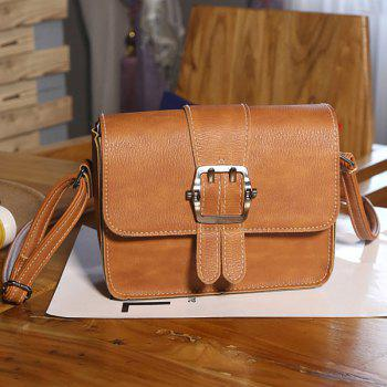 Flap Buckle Strap Cross Body Bag