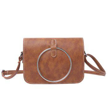 Metal Ring Cross Body Mini Bag