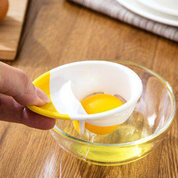Kitchen Tool Egg Yolky Egg Separator - WHITE