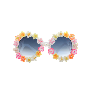 Beach Sunglasses with Flower