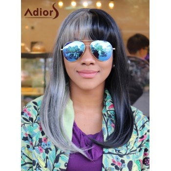 Adiors Long Straight Synthetic Full Bang Cosplay Melanie Martinez Wig