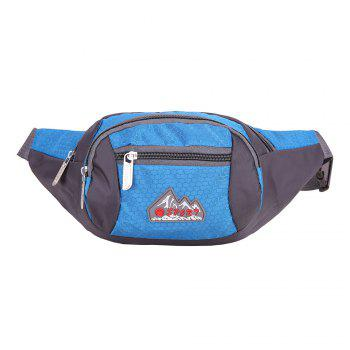 Multifunctional Nylon Waist Bag - MEDIUM BLUE MEDIUM BLUE