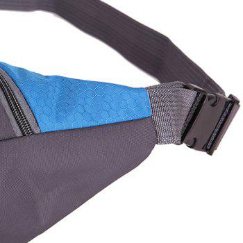 Multifunctional Nylon Waist Bag -  MEDIUM BLUE