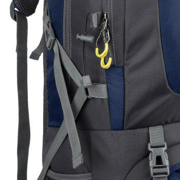 60L Waterproof Mountaineering Backpack -  CERULEAN