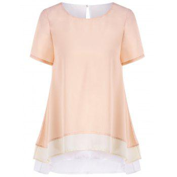 Layered Longline Blouse