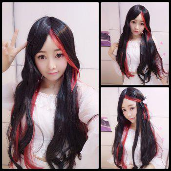 Harajuku Long Straight Middle Part Cosplay Synthetic Wig