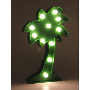 Home Decoration Coconut Tree Shaped LED Night Light