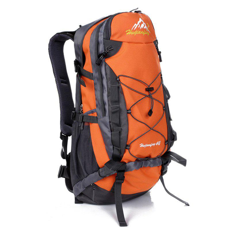 40L Nylon Alpinisme Sac à dos - Orange