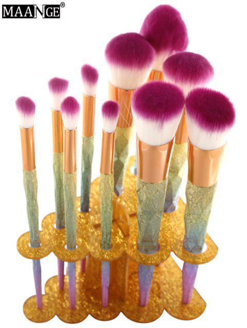 MAANGE Brush Holder Brush Stand - GOLDEN