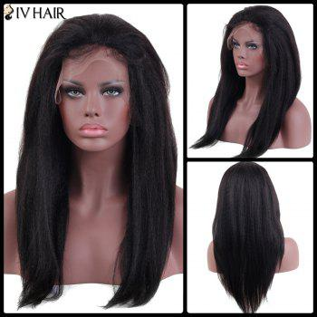 Siv Hair Long Lace Frontal Yaki Straight Human Hair Wig