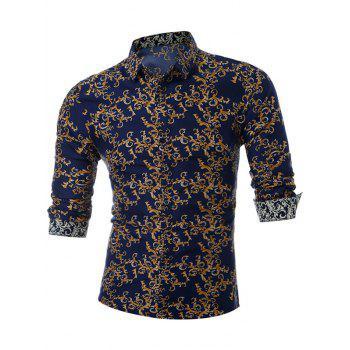All Over Print Slim Fit Shirt