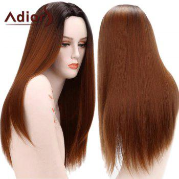 Adiors Gradient Long Straight Centre Parting Synthetic Wig