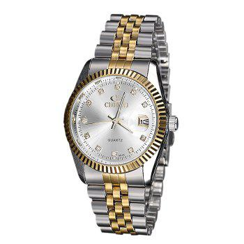 CHENXI Rhinestone Analog Date Watch