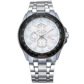 CHENXI Steel Strap Tachymeter Number Watch