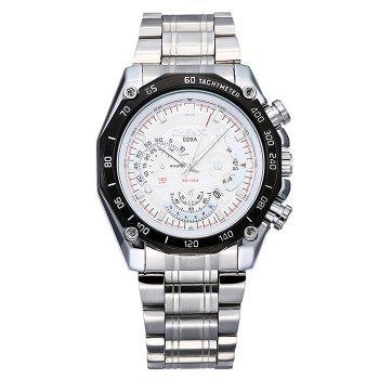 CHENXI Alloy Strap Tachymeter Date Watch
