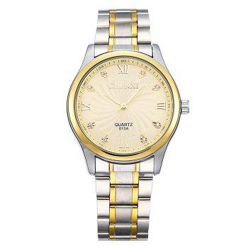 CHENXI Rhinestone Stainless Steel Analog Watch