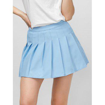 Pleated High Rise Pantskirt