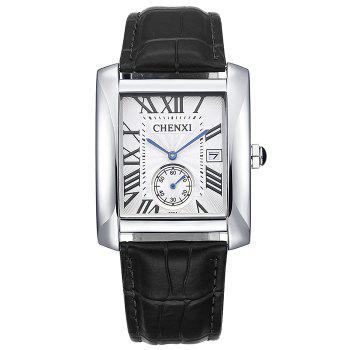 CHENXI Roman Numerals Rectangle Watch