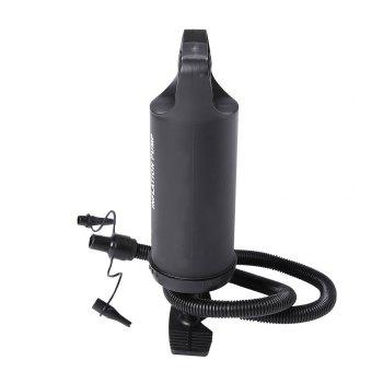 Air Pump With 3 Different Nozzle - BLACK
