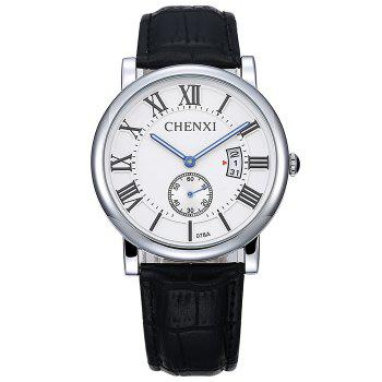 CHENXI Analog Roman Numerals Date Watch