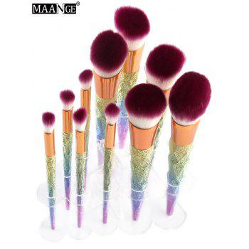 MAANGE Brush Holder Brush Stand - TRANSPARENT TRANSPARENT