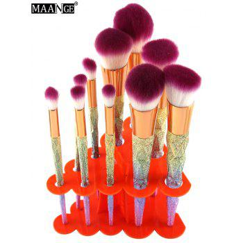 MAANGE Brush Holder Brush Stand - ORANGE ORANGE