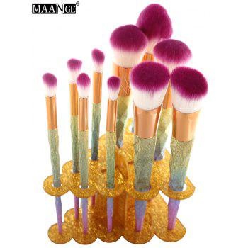 MAANGE Brush Holder Brush Stand - GOLDEN GOLDEN