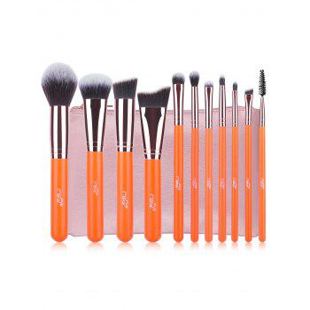 11 Pcs Fiber Makeup Brushes Kit
